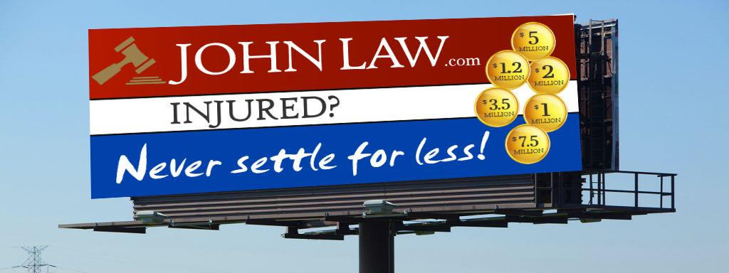 John Law Billboard